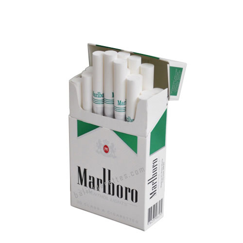 Marlboro green and black